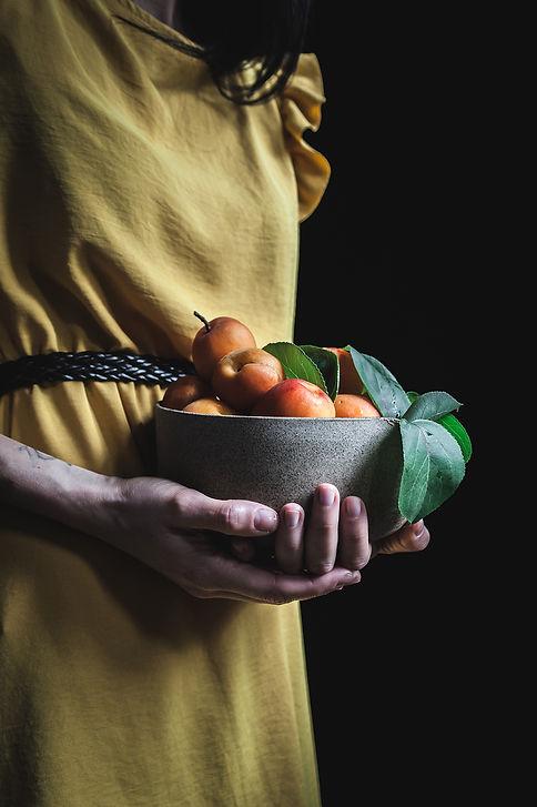 apricots pot
