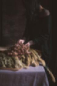 dark mood photography, dried flower