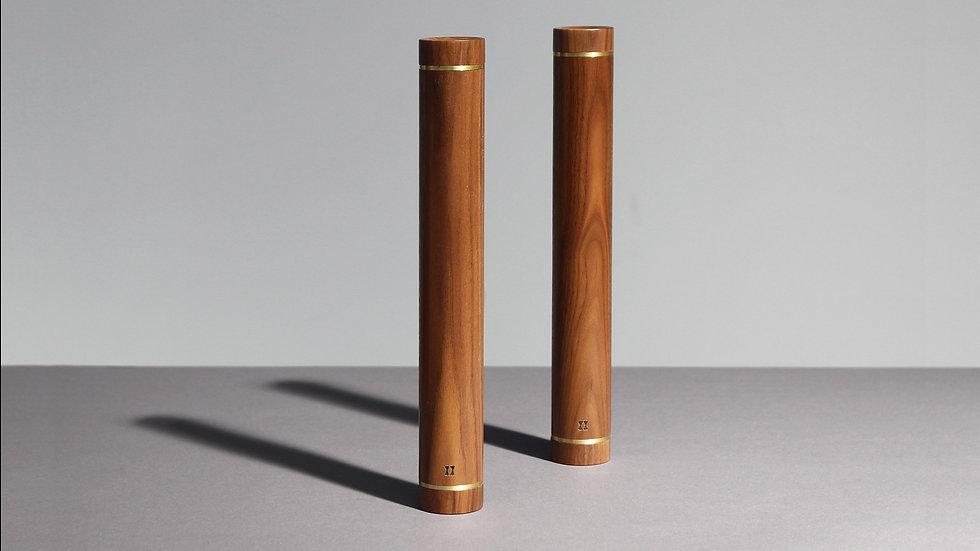 Wooden dumbbells by kenko sports equipment