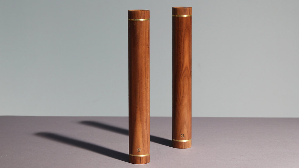 DUMBBELL PAIR 2.0KG - WALNUT