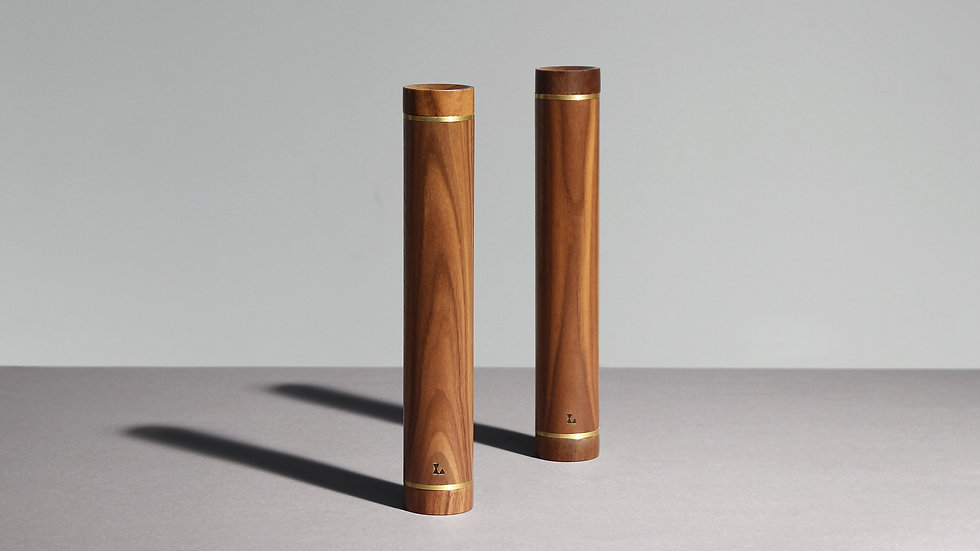 Wooden dumbbells by kenko sports equipment