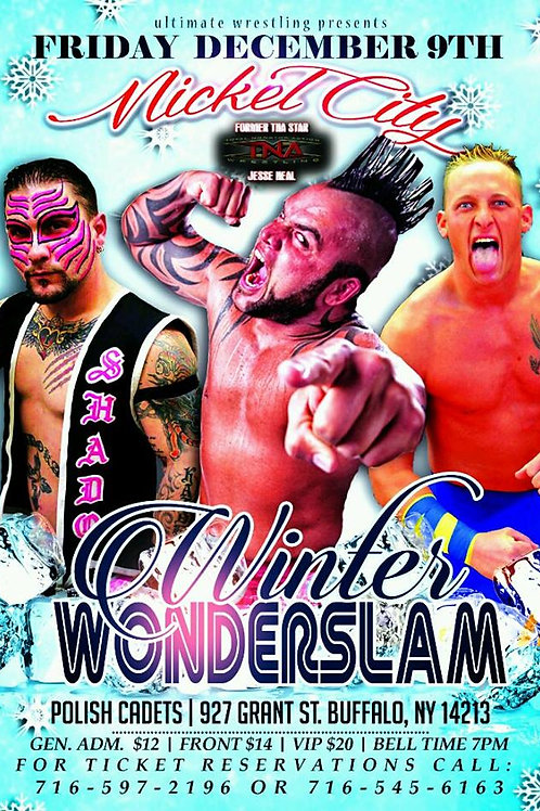 Winter Wonderslam 2016 DVD