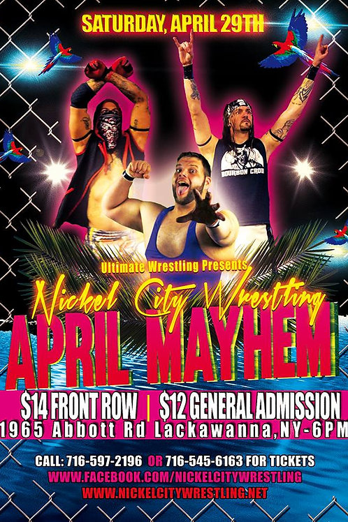 April Mayhem DVD