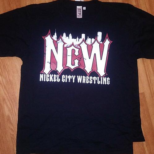 Nickel City Wrestling Black Shirt