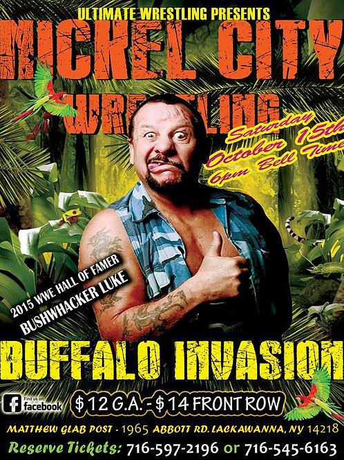 Buffalo Invasion DVD