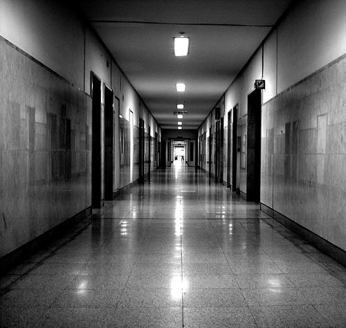 pasillo psiquiátrico
