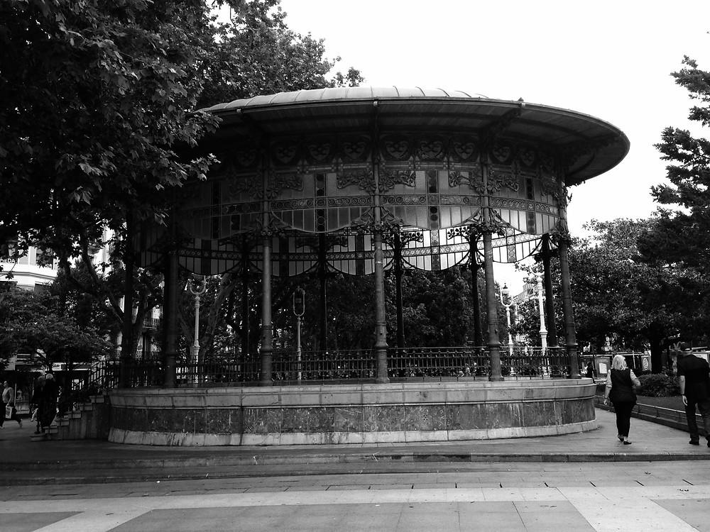 quiosco del Boulevard de San Sebastián
