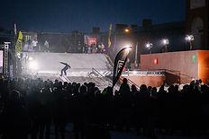 Городские сноуборд соревнования