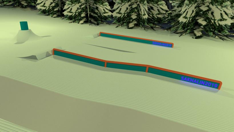 Визуализация сноупарка