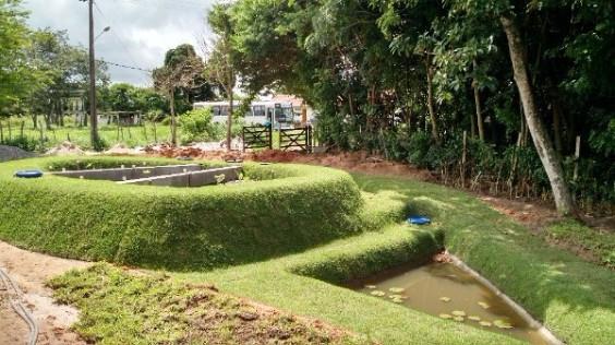Jardim Filtrante® no Vilaverde Turmalina!