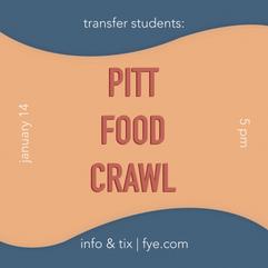 pitt food crawl