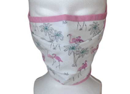 MASQUE BARRIERE UNS FLAMANT ROSE