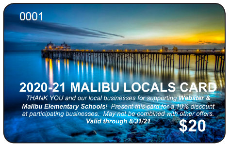 Malibu Locals Discount Card