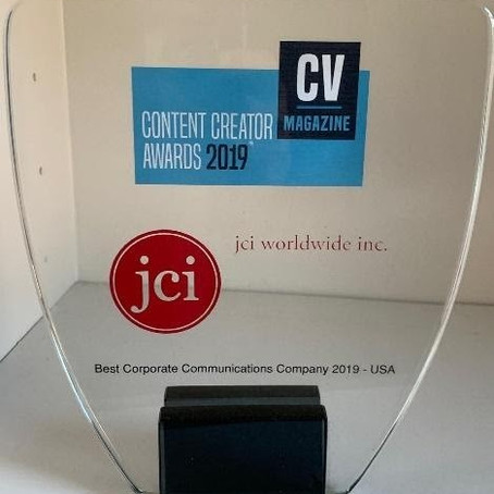 JCI Worldwide Snags Corporate Vision Magazine Content Creator Awards