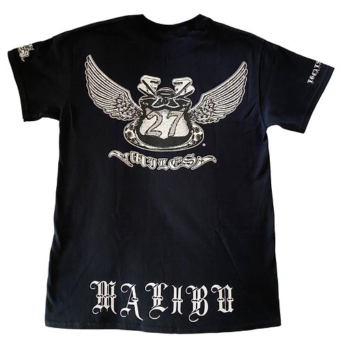 27MILES- Short Sleeve - Black - OG MALIBU