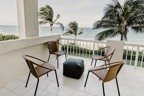 The Ambassador, Palm Beach - Private Outdoor Space with Ocean View