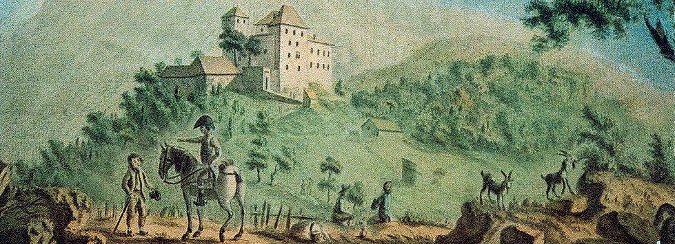 Château de Menthon-Saint-Bernard, fin XVIIIe siècle