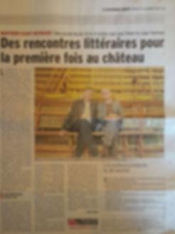 Article Dauphiné Libéré (9 octobre 2018)