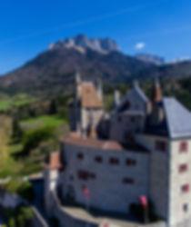 Château de Menthon-Saint-Bernard, © Drone Média Concept & Imagine par Arnaud Lesueur (2017)