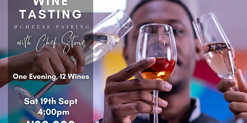 Wine & Cheese Tasting Session with Chef Stone