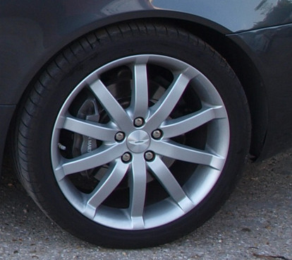 Alloy wheel refurbished