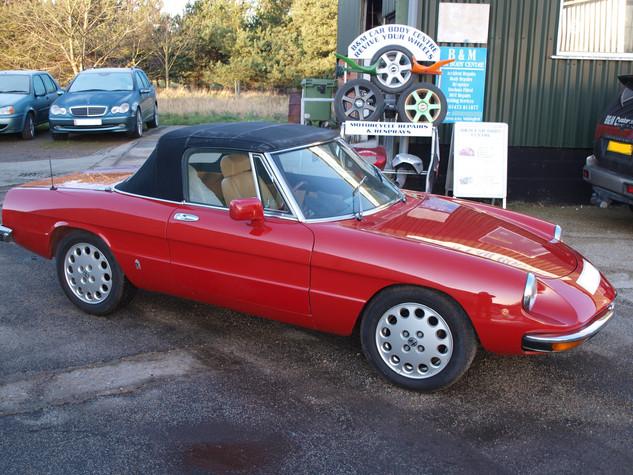 Alfa Romeo Spider Classic