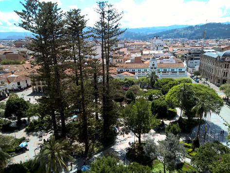 La visita de un Italiano en Cuenca.