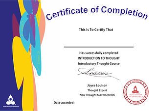 Certificate of Completion Introduction t