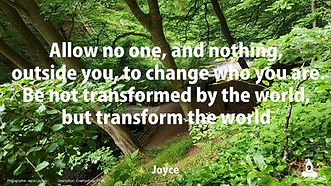 New Thought Movement UK daily motivational quotes and photo by Joyce