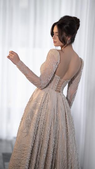 חנין קוטור שמלת ערב מיוחדת