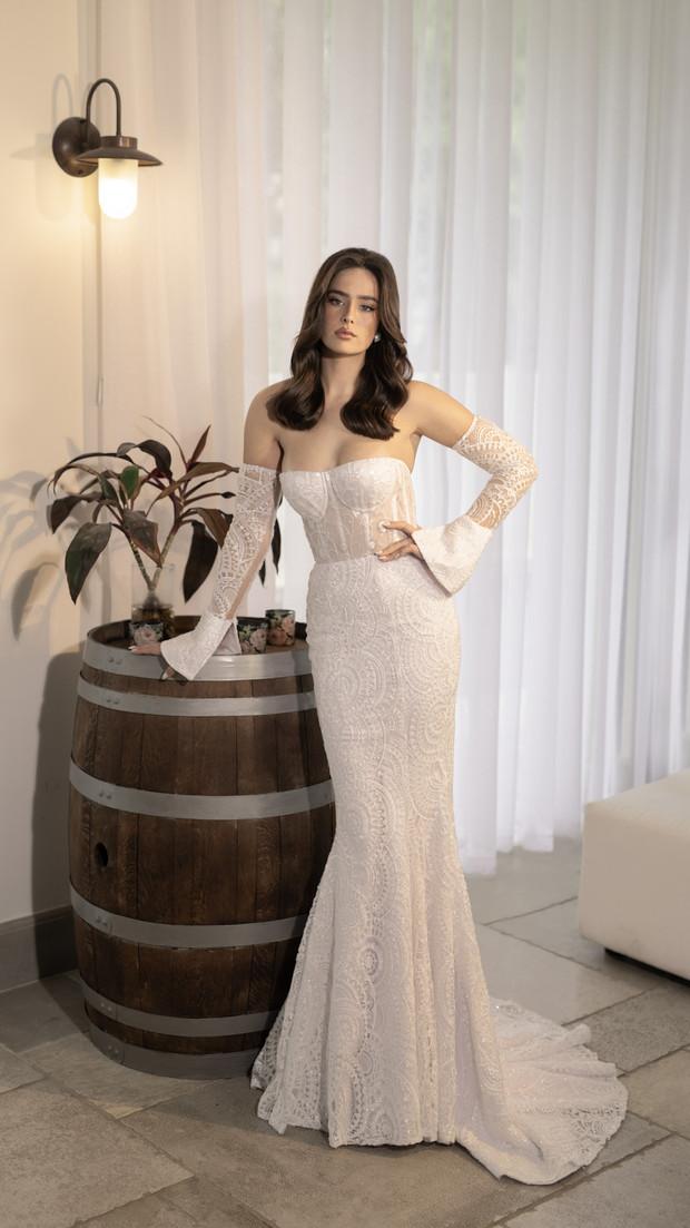חנין קוטור שמלת כלה סטרפלס 2020