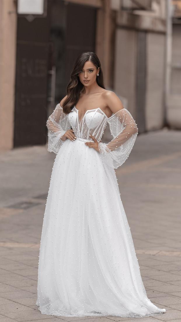 קולקציית 2020 חנין קוטור שמלת כלה