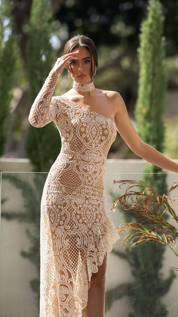שמלת ערב קולקציית 2020 חנין קוטור