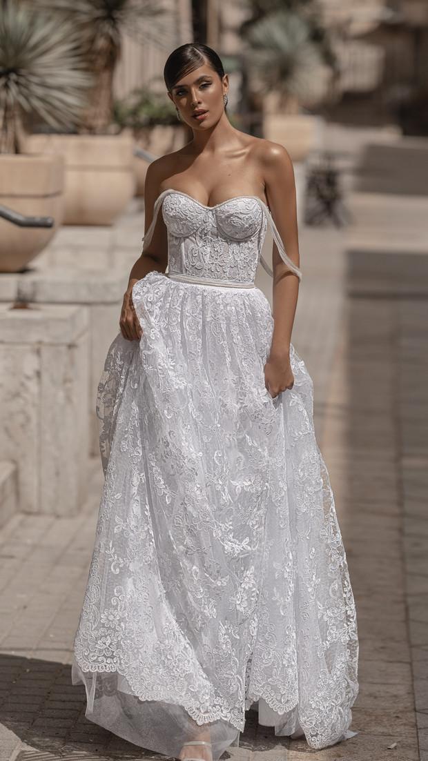 שמלת כלה לערב בלתי נשכח חנין קוטור