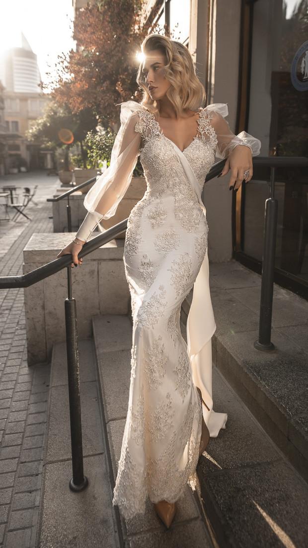 שמלת כלה ראשונה או שמלת ערב ארוכה חנין קוטור