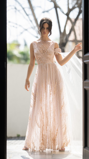 חנין קוטור שמלות ערב וכלה 2020