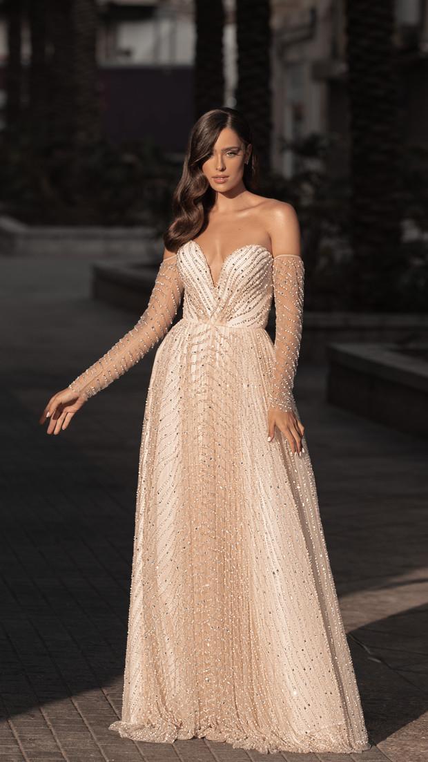 שמלת ערב פרימיום חנין קוטור