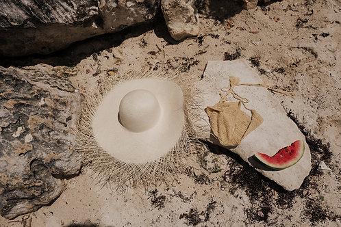 Organic Straw Hat
