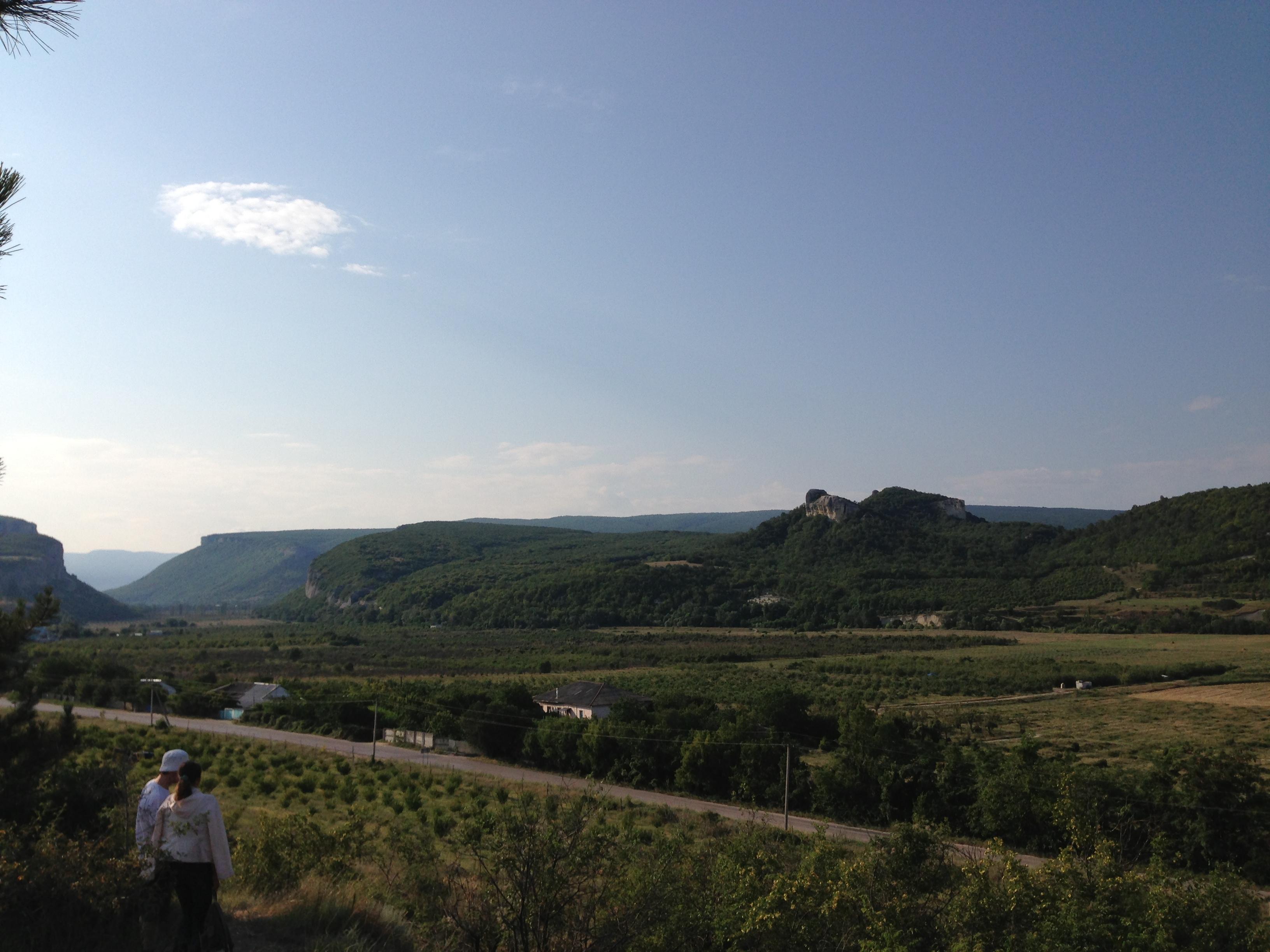 В районе монастыря-крепости Инкерман