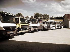 camions de terrassement travaux publics à vesoul