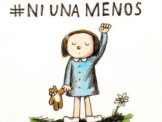 """5to. aniversario de la manifestación contra la Violencia de Género """"Ni Una menos"""""""