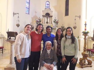 Falleció nuestra querida hermana María Perez en el día de hoy. Q.E.P.D. Rezamos por su eterno descan
