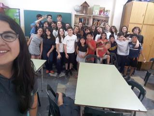 Jornada especial de 2do año en el apoyo escolar de Barrio Nuevo 14/11