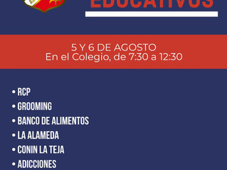 Talleres educativos 2019