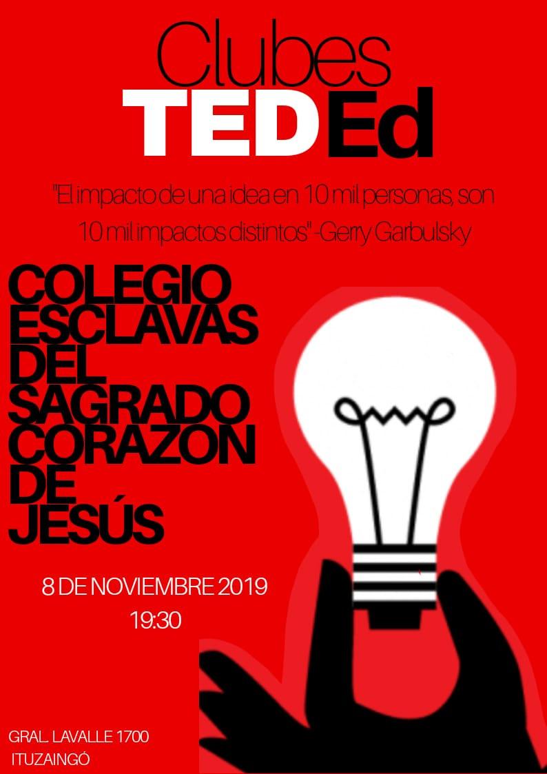 Hola a todos! Los invitamos al evento de los clubes TedEd, proyecto que iniciamos este año con los chicos de secundaria. Algunos se animan a compartir todo lo que trabajaron y crearon. Ideas puestas en juego para enriquecer nuestra mirada del mundo.