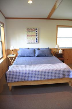 King bed rec room