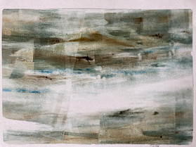 Landscape monoprint 3