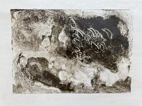 Landscape monoprint 4