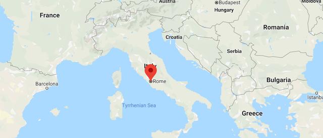 rome, italy, flag