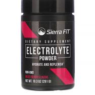 Sierra Fit Electrolyte en poudre parfum cerise